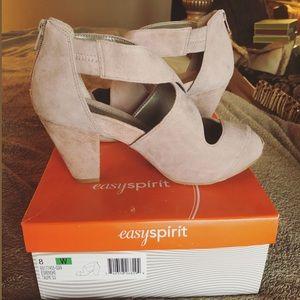 EasySpirit platform sandal